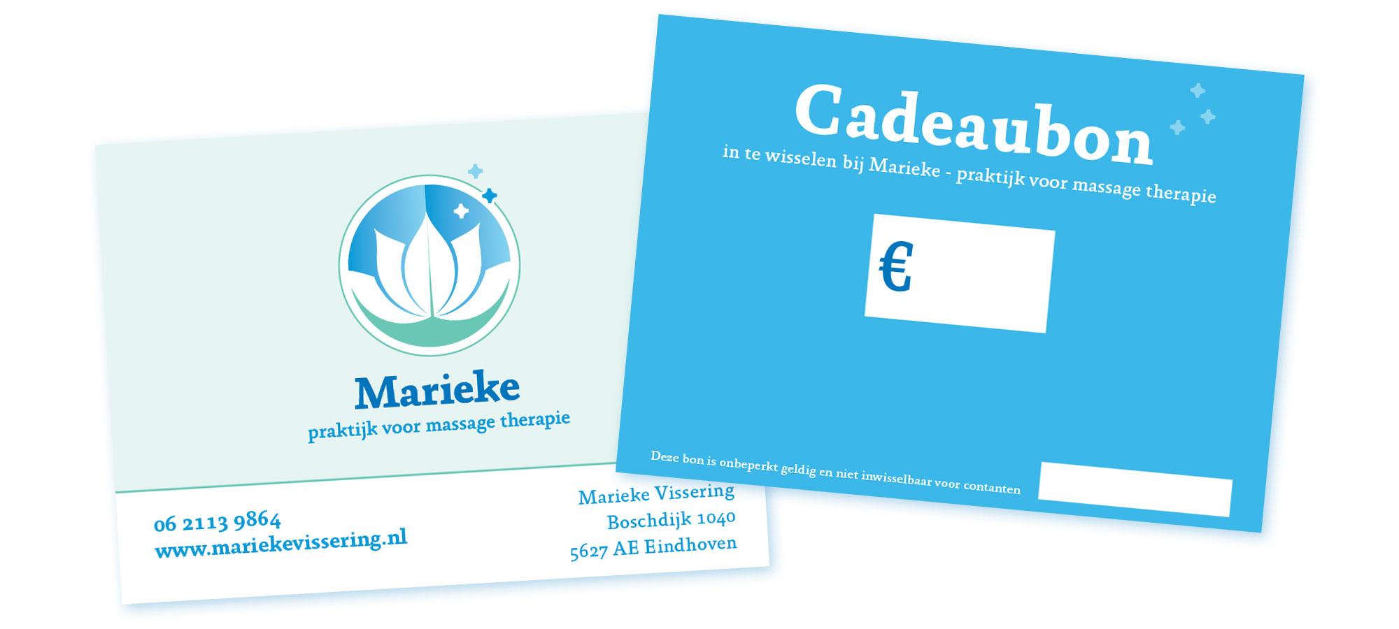 Cadeaubon massage bij Marieke